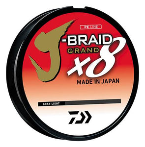 Daiwa J-Braid x8 Grand Braid - 150 Yard Spool