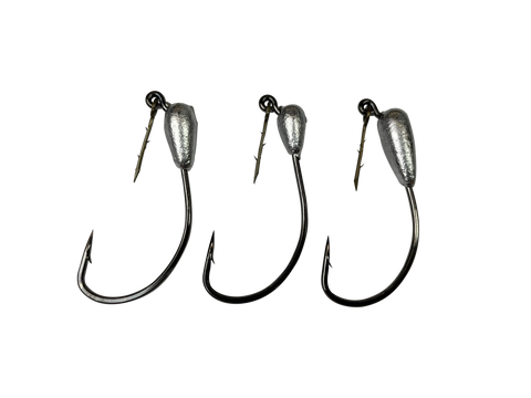 Power Prawn Weedless Jig Heads