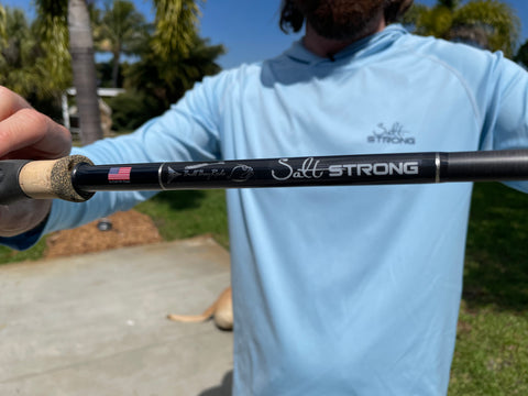 Bull Bay Salt Strong Custom Rod