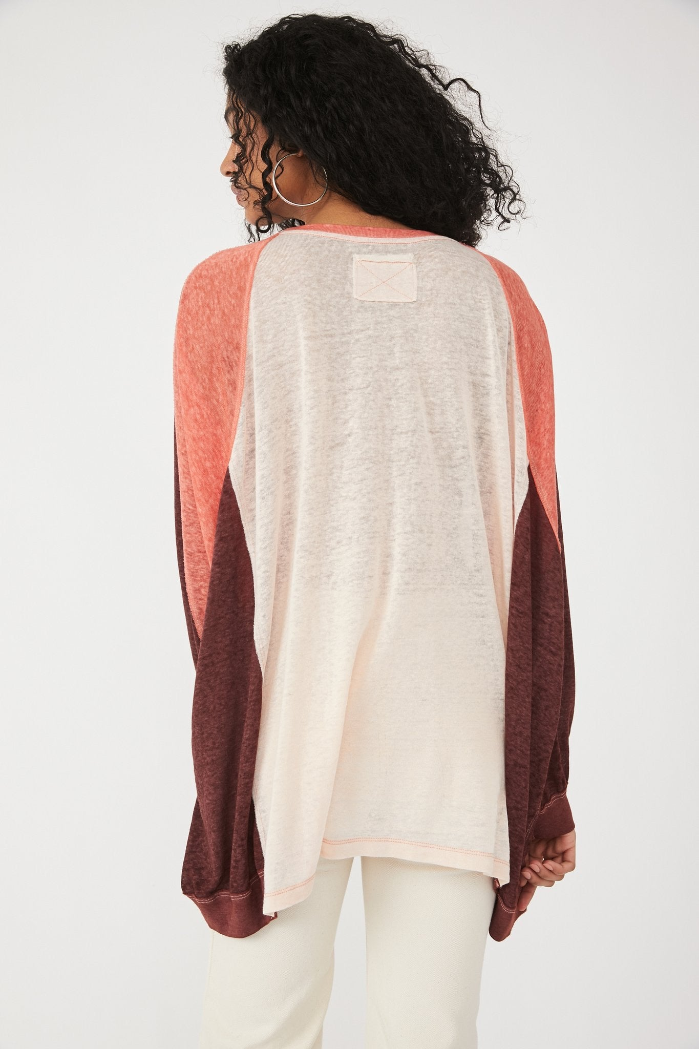 HOME STRETCH TEE FREE PEOPLE