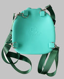 Silicone Green Pig Backpack