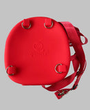 Silicone Red Pig Backpack