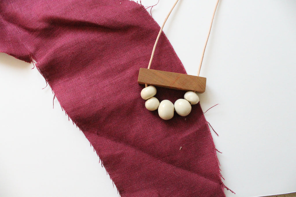 L&R Studio plus Shop Sara Clark necklaces