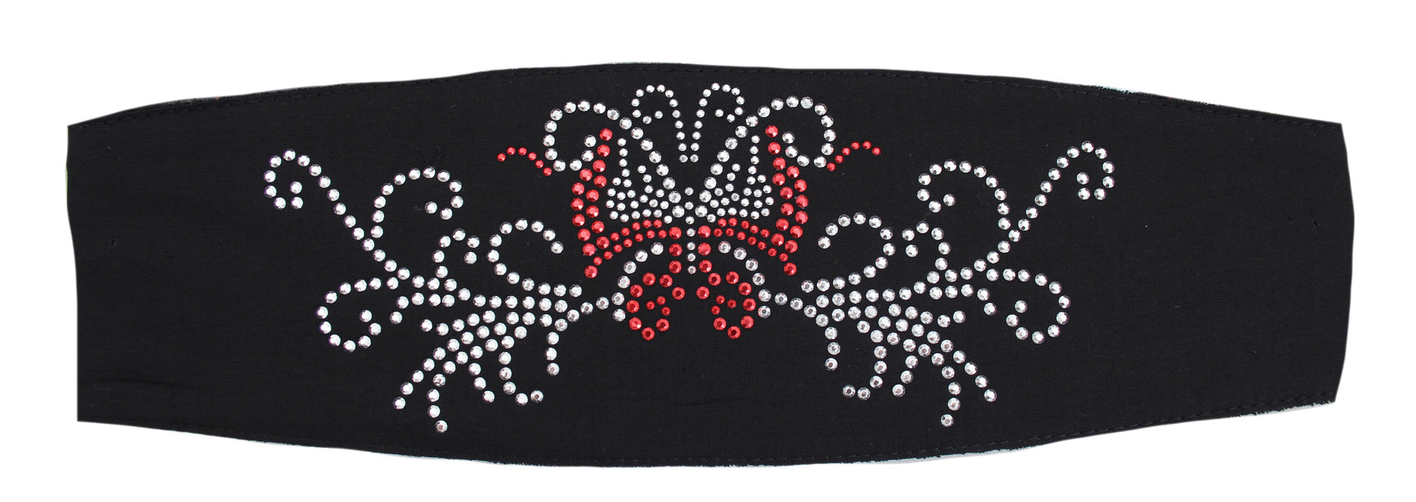 Studded Black Mariah Butterfly Ladies Chop Top Bandana
