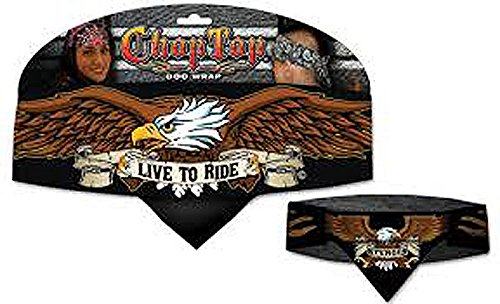 USA Eagle Chop Top Biker Doo Wrap Bandana