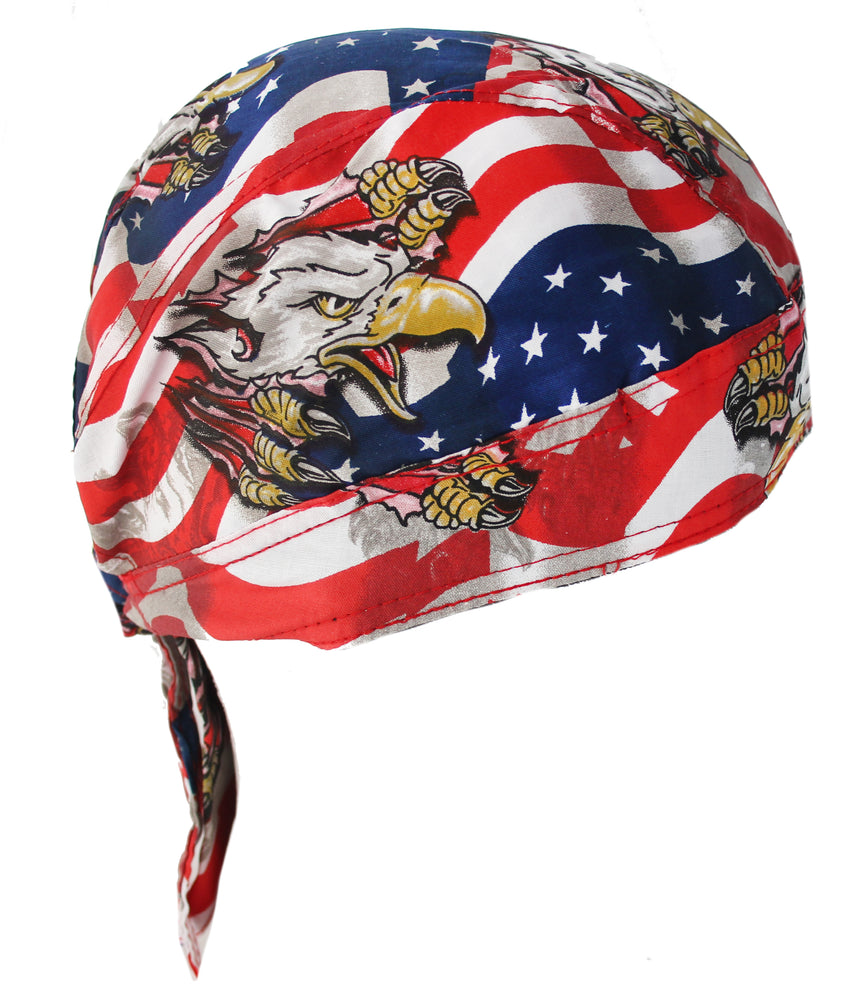 USA American Fierce Eagle Bandana Headwrap Durag Hat Cap