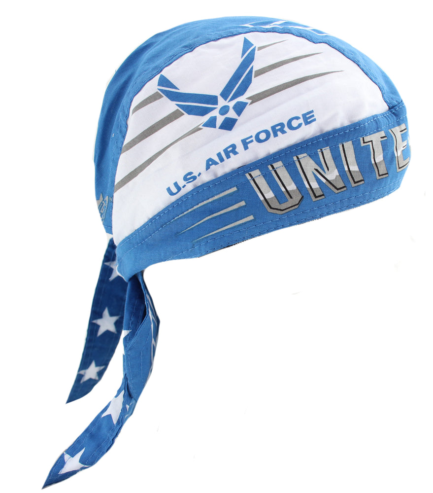 U.S. Air Force Blue Skull Cap Hat Bandana