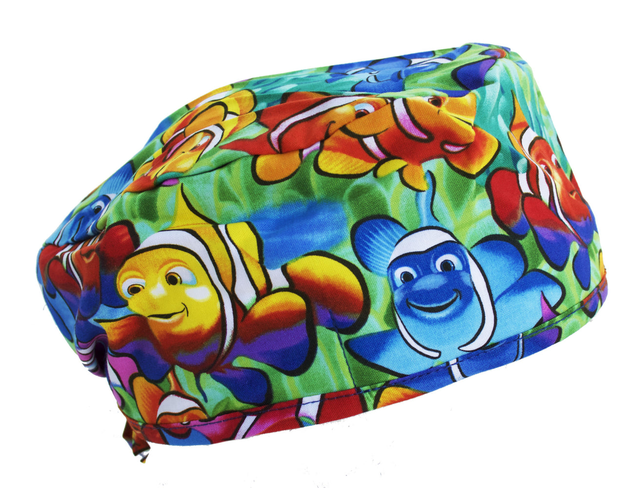 Clown Fish Nemo Surgical Scrub Cap