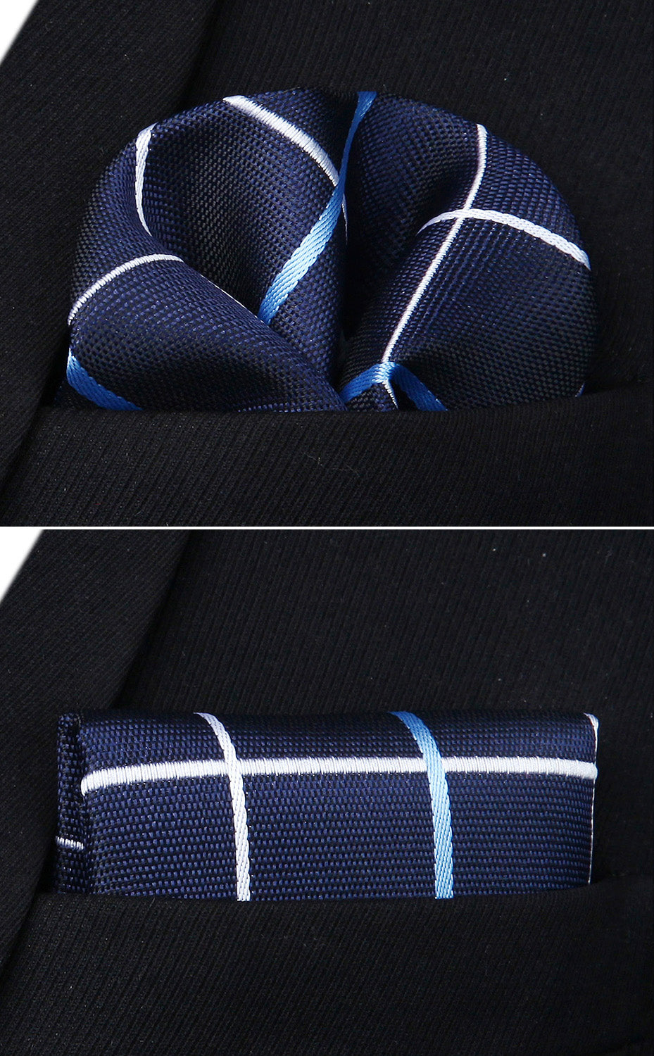 Fibre Optic Bow Tie and Pocket Square - SOPHGENT