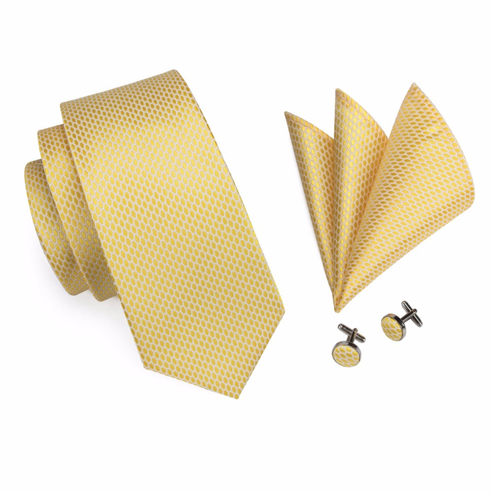 Murphy Tie, Pocket Square and Cufflinks - SOPHGENT