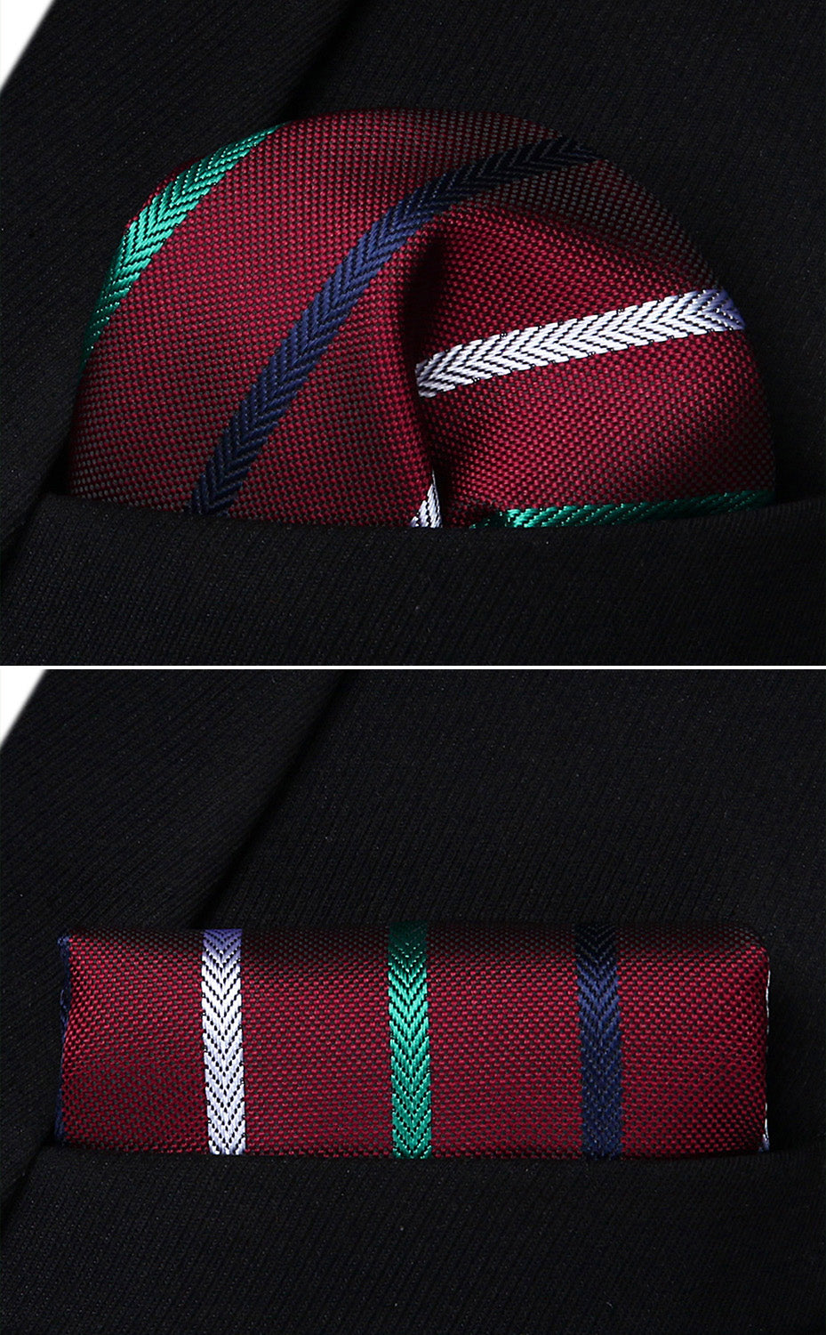 Rainbow Lines Tie and Pocket Square - SOPHGENT