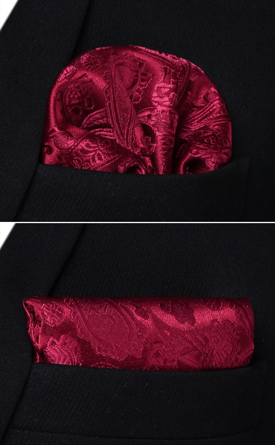 484349f436b6 Burgundy Silk Tie and Pocket Square | Beautiful ties at unbelievable ...