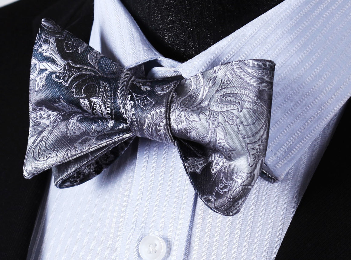 Cuirass Bow Tie and Pocket Square - SOPHGENT
