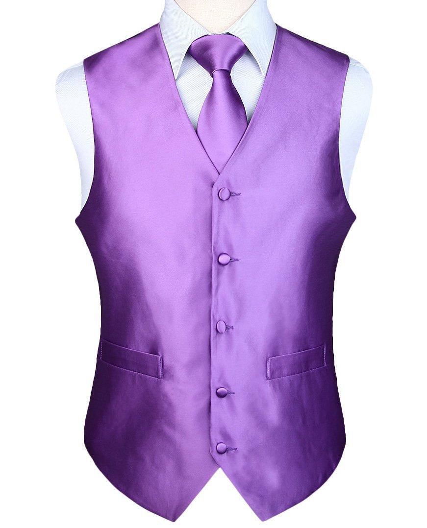ae6934b615aff Plum Violet Vest Set | Beautiful ties at unbelievable prices.