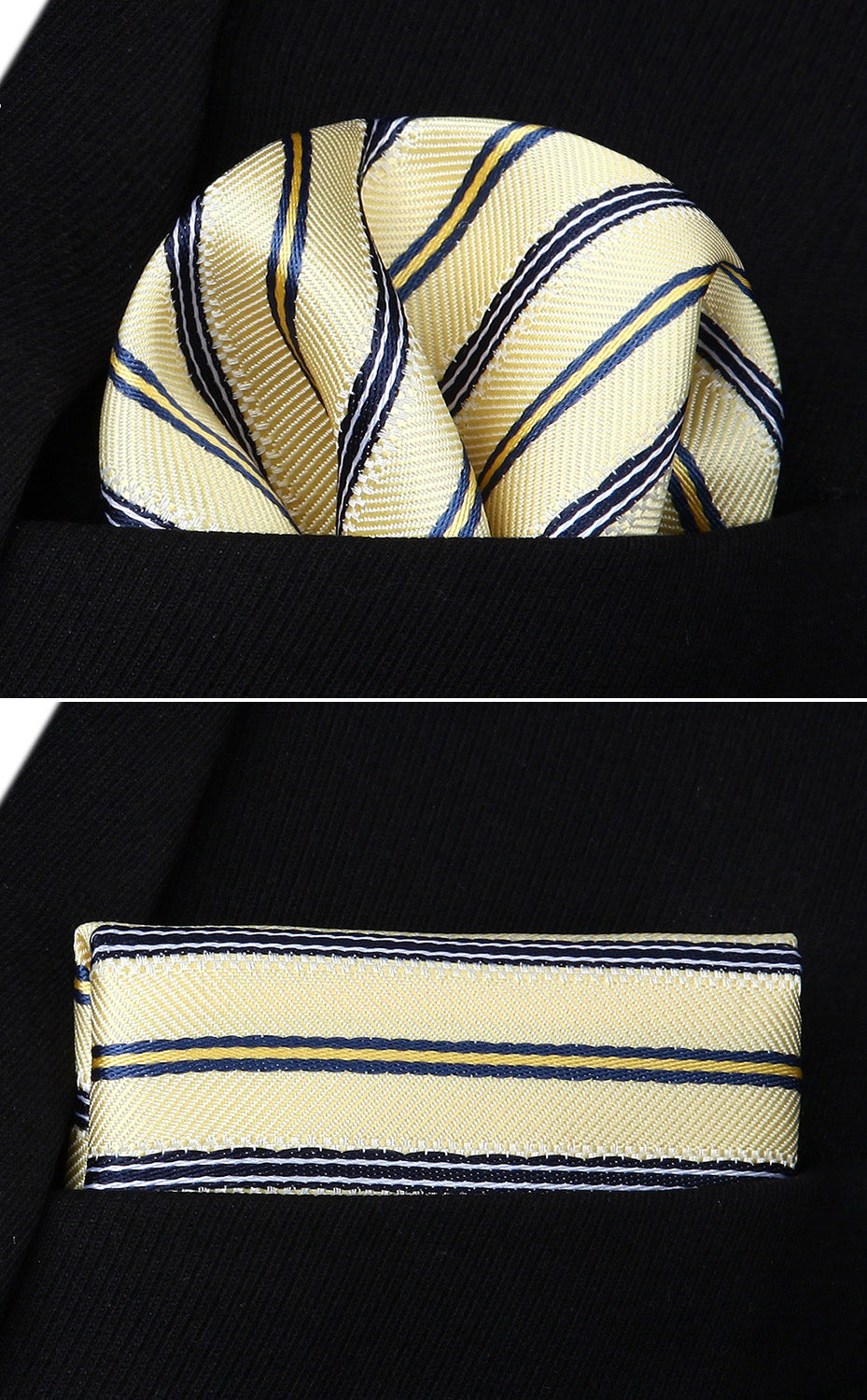 French Vanilla Tie and Pocket Square - SOPHGENT