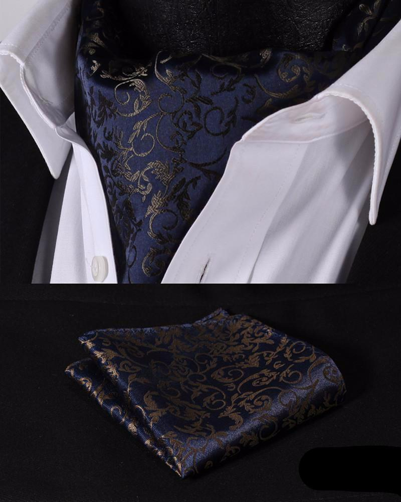 The Stallion Floral Ascot and Pocket Square - SOPHGENT