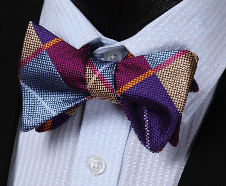 Hartford Plaid Bow Tie and Pocket Square - SOPHGENT