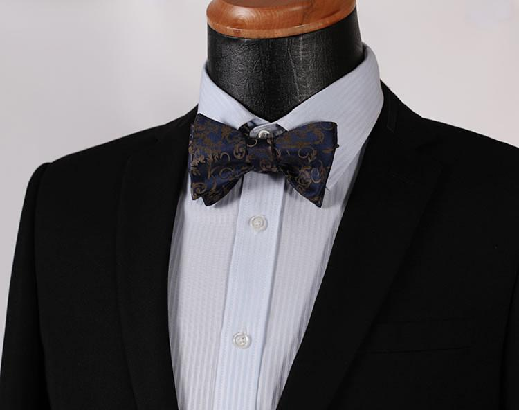 The Stallion Floral Bow Tie and Pocket Square - SOPHGENT