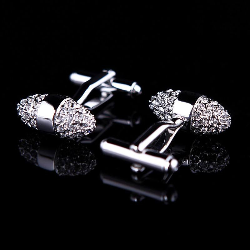 Cufflink - Crystal Egg Cufflinks