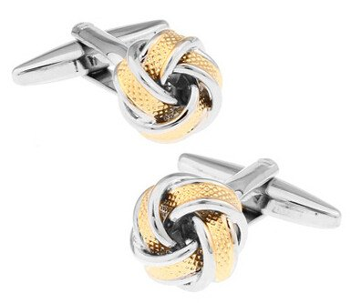 Two Tone Knot Cufflinks - SOPHGENT