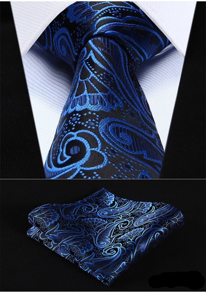 Neon Night Tie and Pocket Square - SOPHGENT