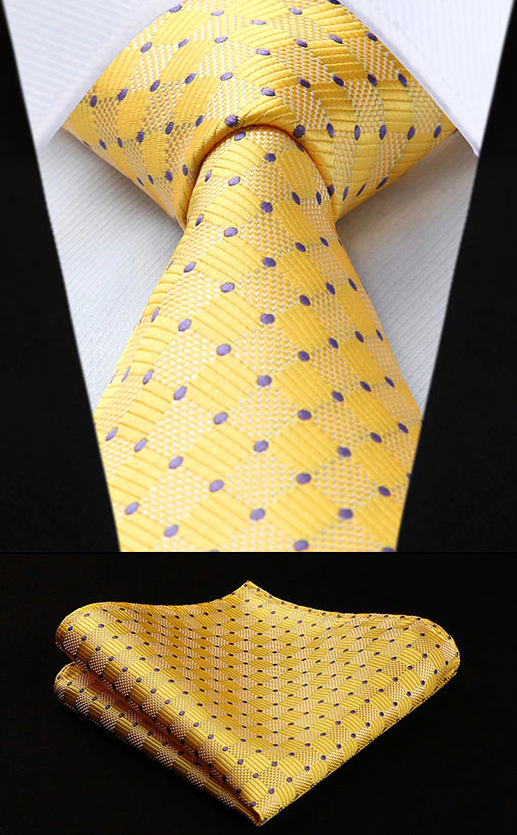Spot On Polka XL Tie and Pocket Square - SOPHGENT