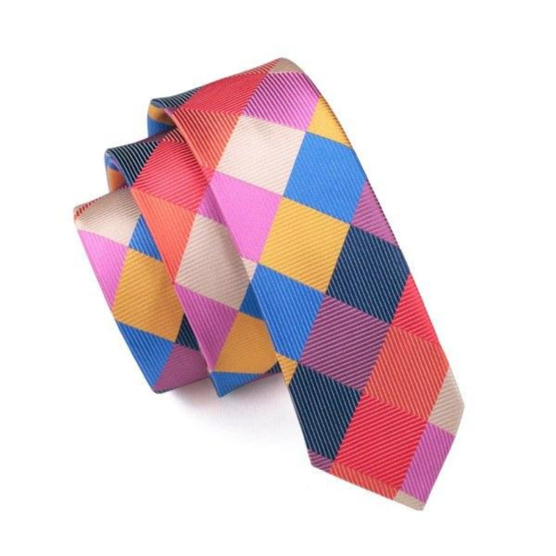 Colorfull Slim Tie - SOPHGENT