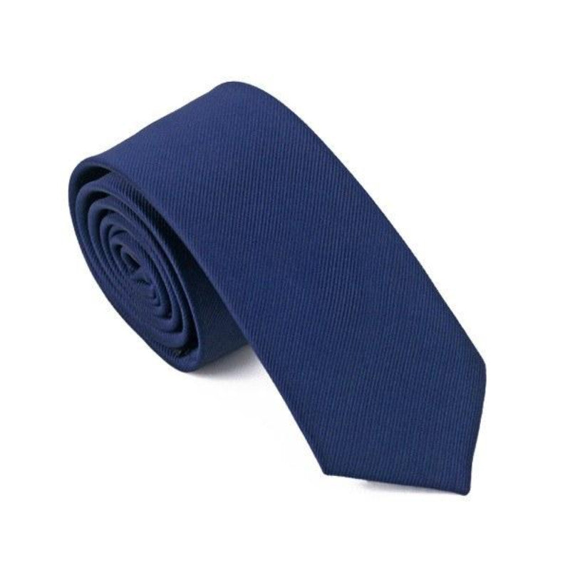 Dark Blue Slim Tie - SOPHGENT