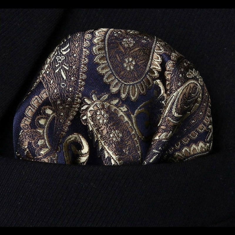 874e0fc50297 Brown Paisley Tie and Pocket Square | Beautiful ties at unbelievable ...