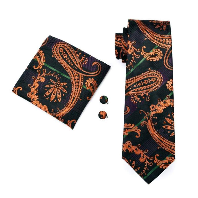Tie Sets - Hiddlestone Tie, Handkerchief And Cufflinks