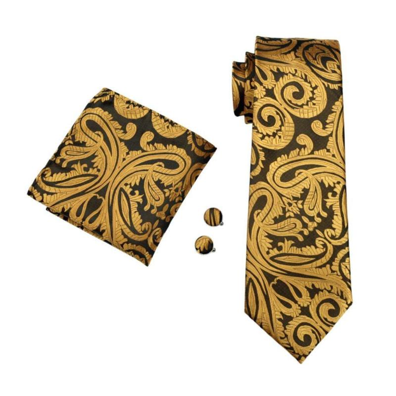 Lewis Tie, Pocket Square and Cufflinks - SOPHGENT
