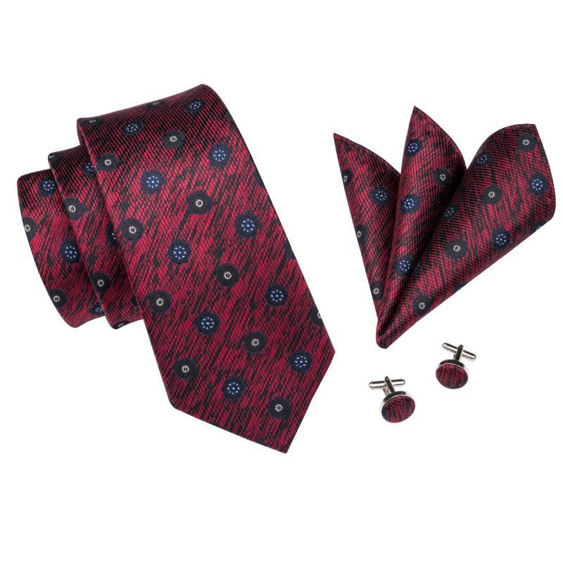 4aca65da6433 ... Signs From Space Tie, Pocket Square and Cufflinks - SOPHGENT