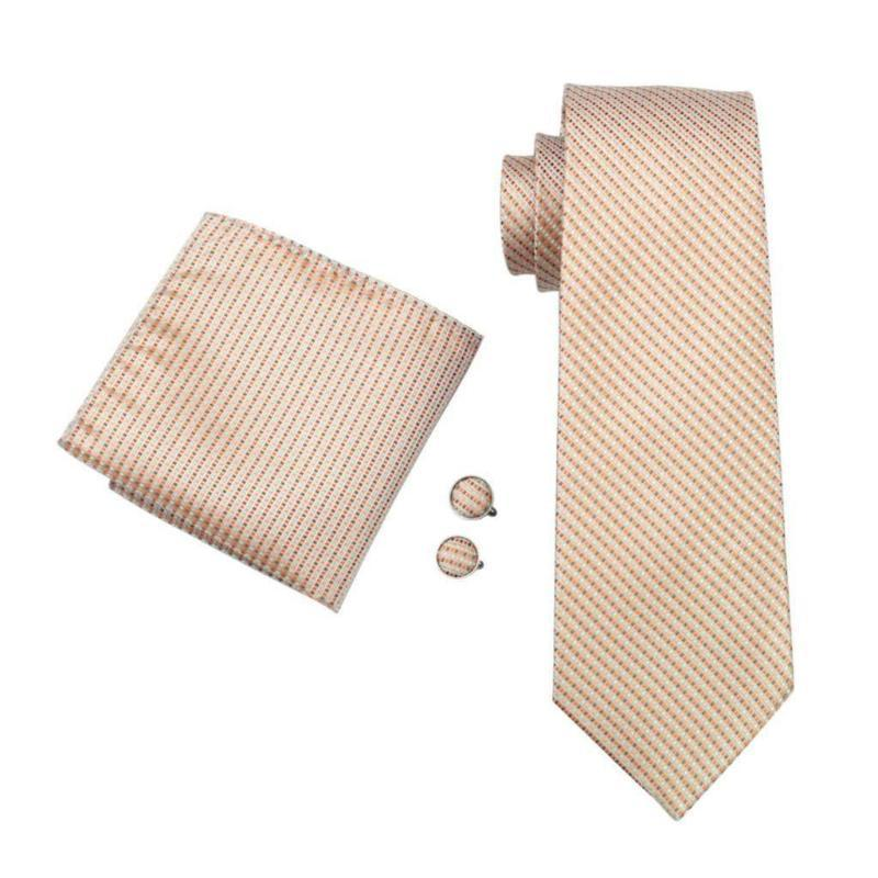Tie Sets - Tree Python Tie, Handkerchief And Cufflinks
