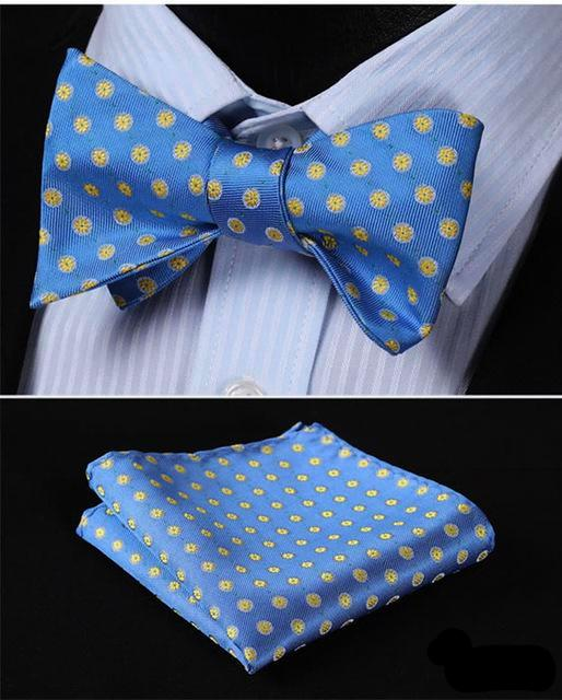 Summer Sun Bow Tie and Pocket Square - SOPHGENT