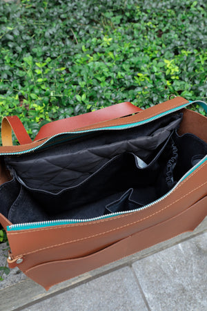 Diaper Bag- Chestnut