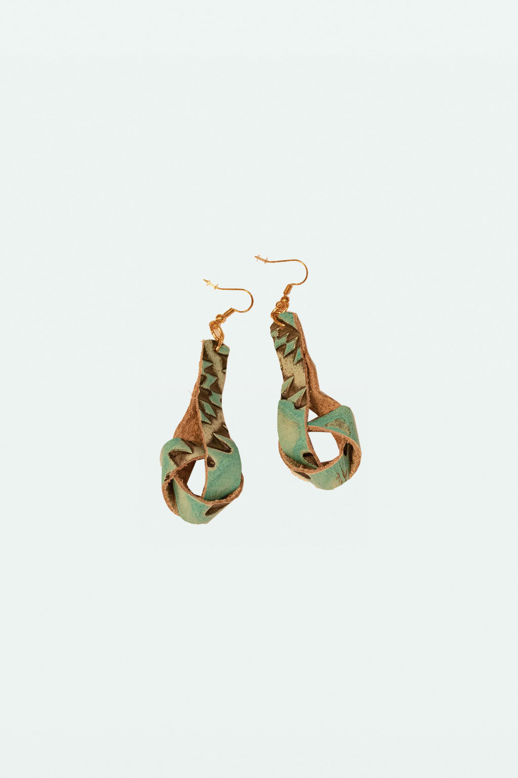 Knotted Earring - Ikat