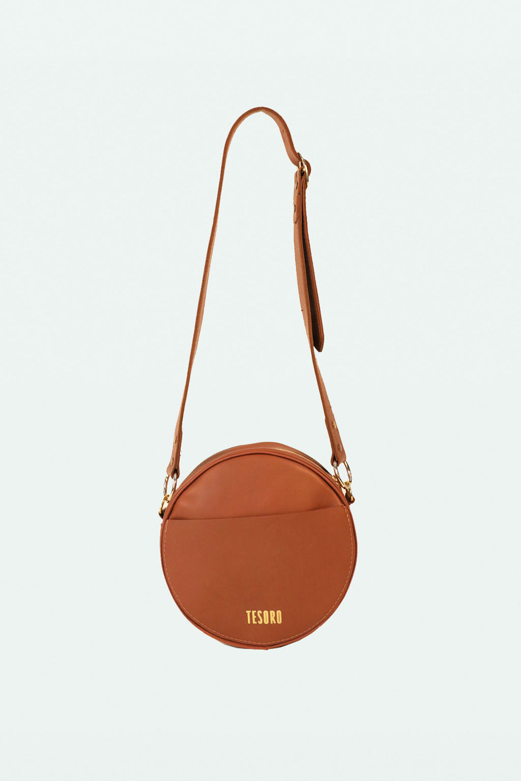 Sabina Circle Bag - Chestnut