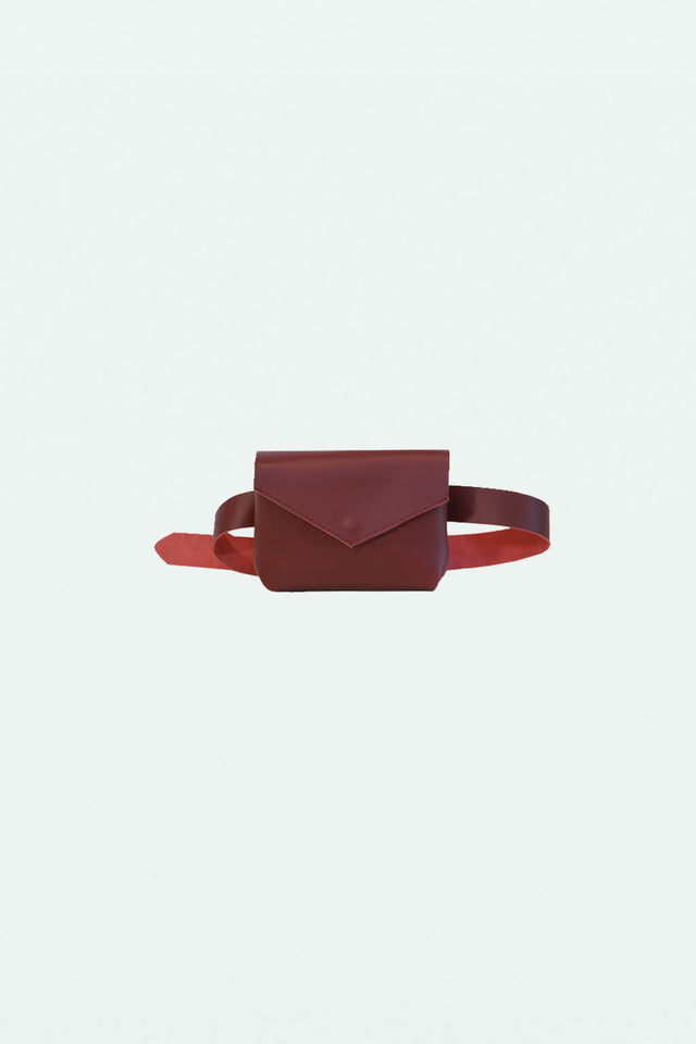 The Ellie Fanny Pack - Oxblood