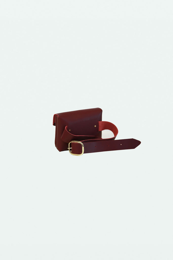 The Ellie Fanny Pack - Maroon