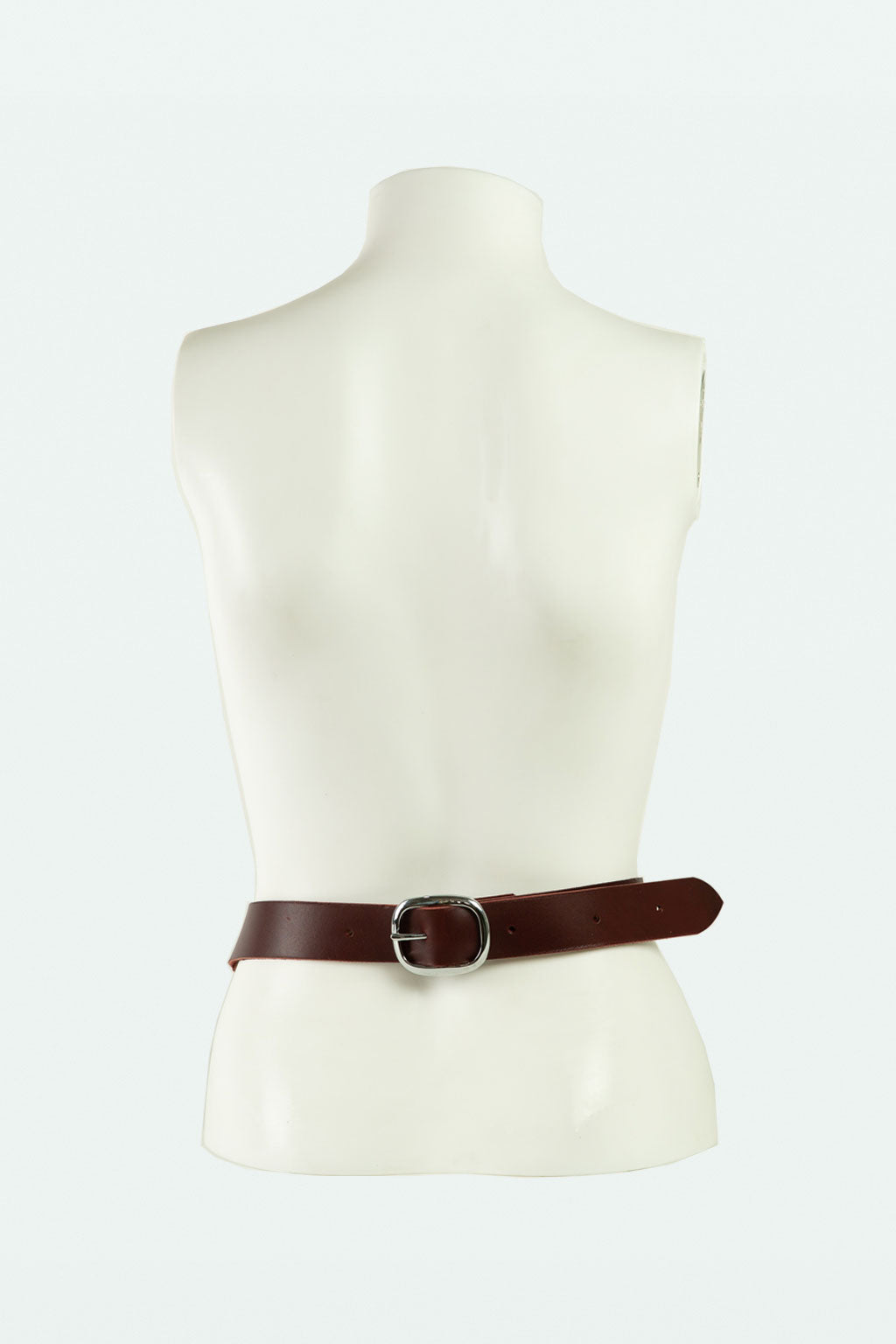 Oversized Horse Bit Belt- Oxblood