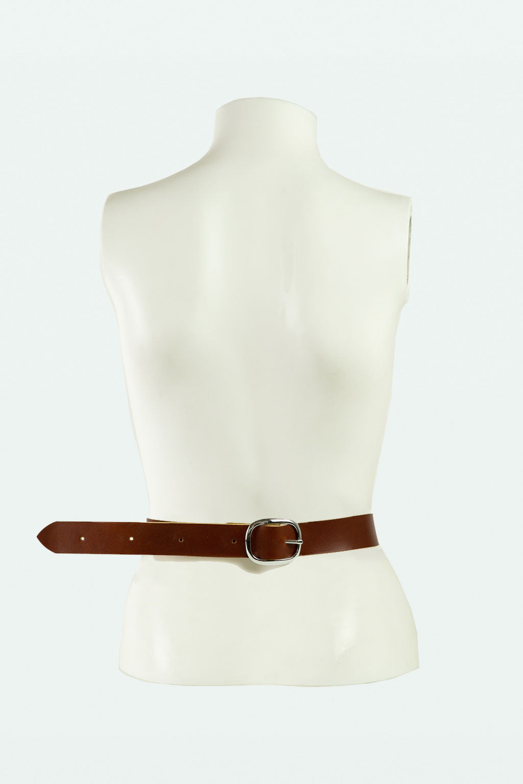 Large Horse Bit Belt- Chestnut