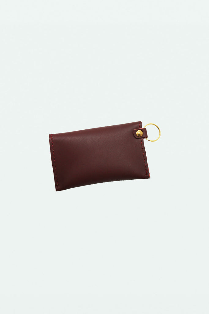 Credit Card Holder - Maroon