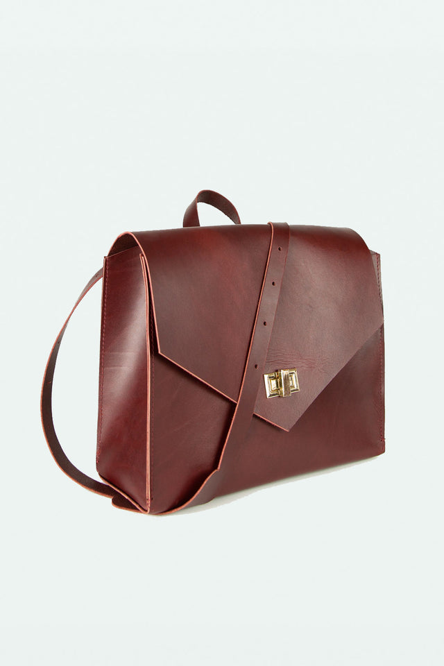 Backpack / Crossbody Bag - Maroon