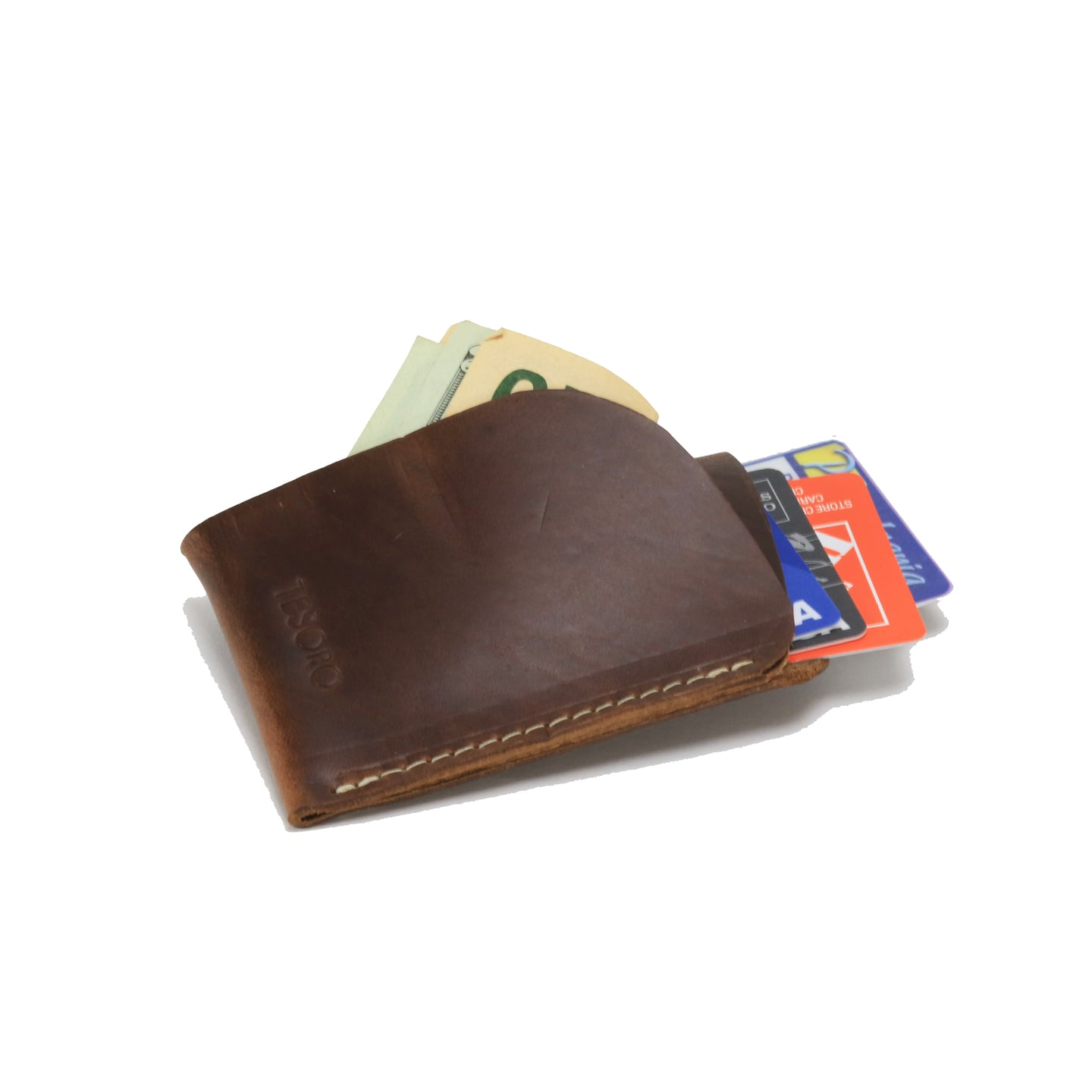 Men's Brown Minimal Wallet