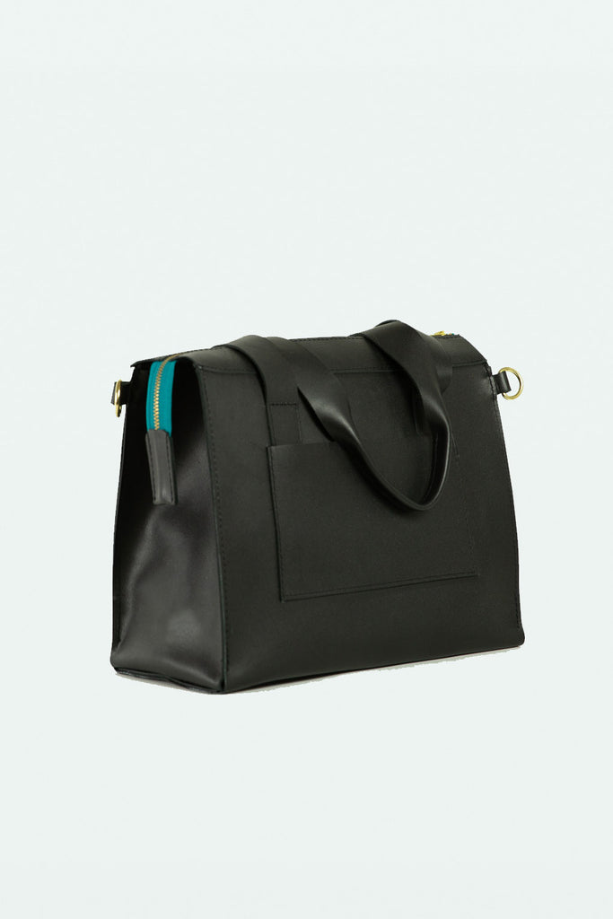 Shannon Tote/Crossbody - Black