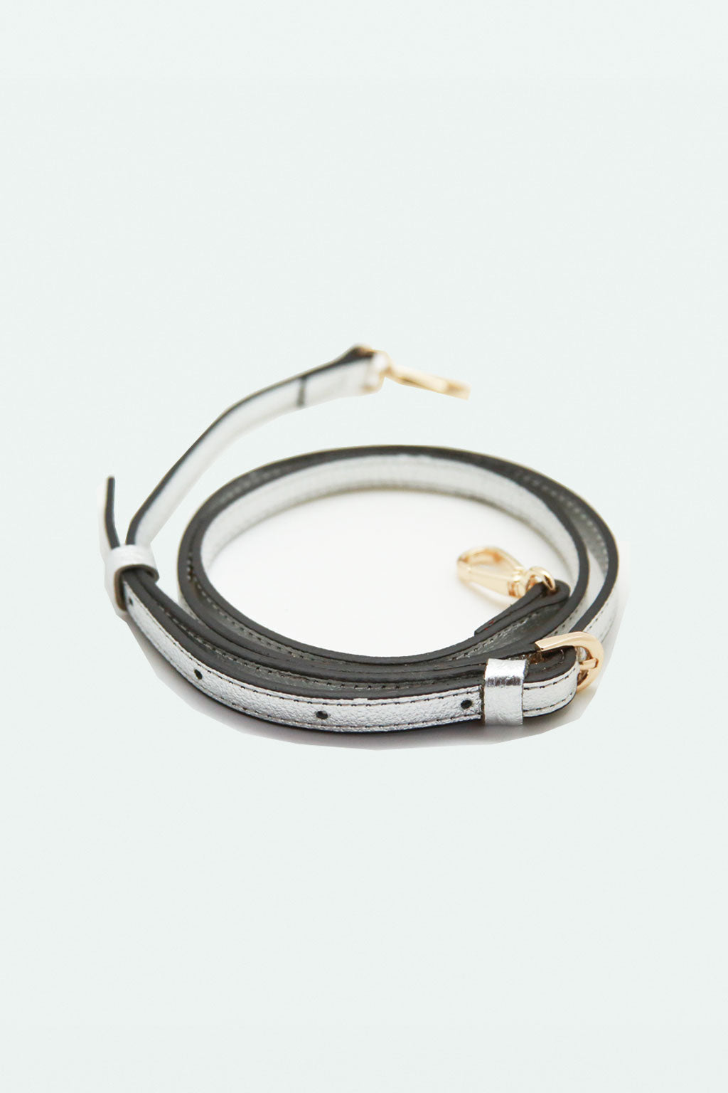 Cross Body Strap - Silver
