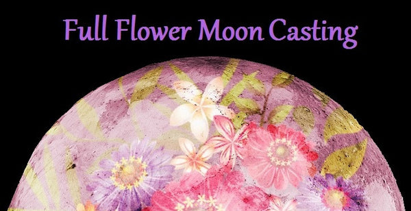 free flower moon casting image