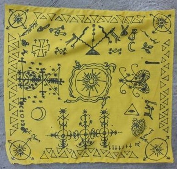 Papa Crow Three Night Altar Cloth