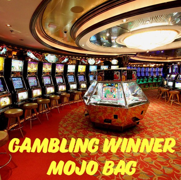 Gambling Winner Mojo Bag