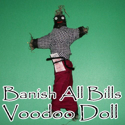 Banish All Bills Doll